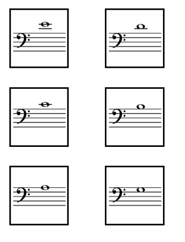 image about Music Note Flashcards Printable called Absolutely free Printable Downloadables Angela Dwyer